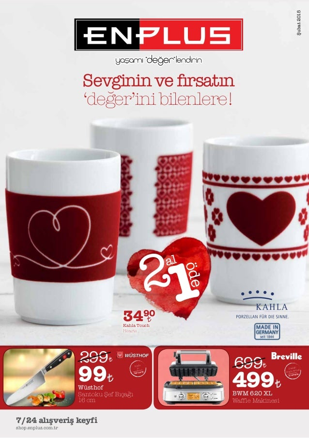 shop.enplus.com.tr 7/24 alışveriş keyfi 3490 Kahla Touch Hearts 499BWM 620 XL Waffle Makinesi 699 Design Engineering Austr...