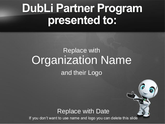 Replace with  Organization Name and their Logo  Replace with Date If you don't want to use name and logo you can delete th...