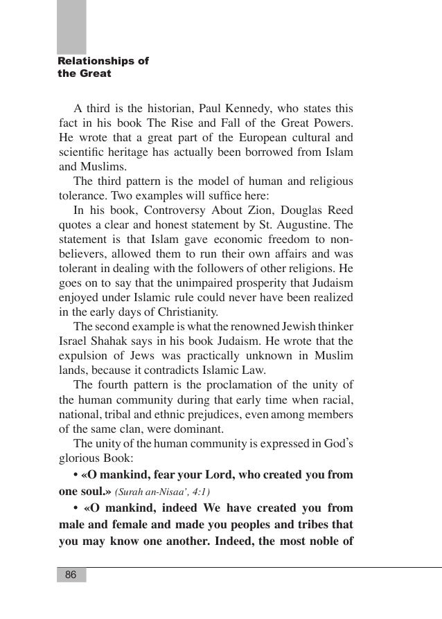 89 Relationships of the Great CHAPTER SIX Muhammad: His Position with God and Status Among Muslims «And We raised high for...