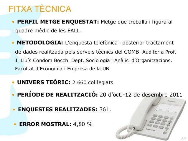 Resultats Enquesta d'Assegurança Lliure 2011-2012 Slide 2