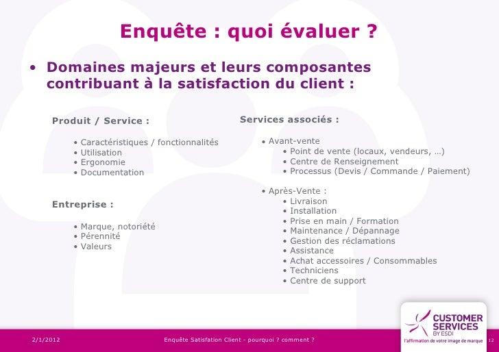 Exemple De Questionnaire De Satisfaction Client Pdf