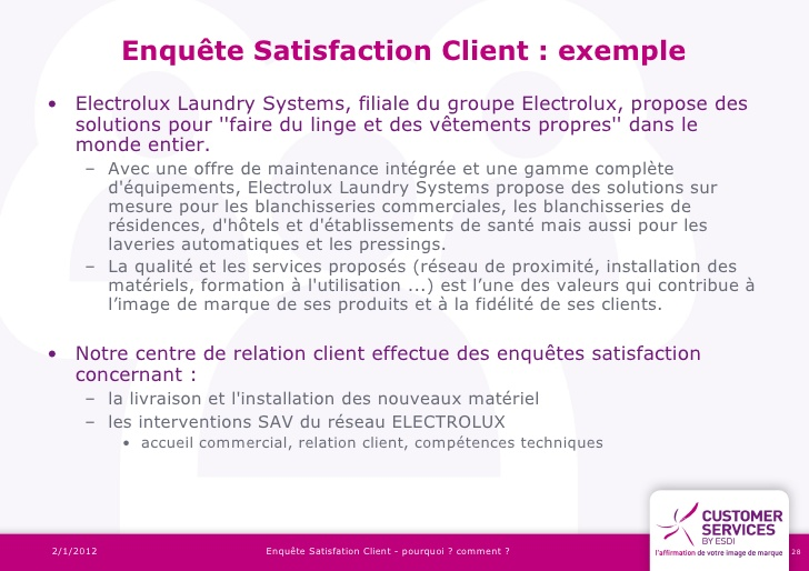 Top Enquete satisfaction client - les bonnes pratiques WM37