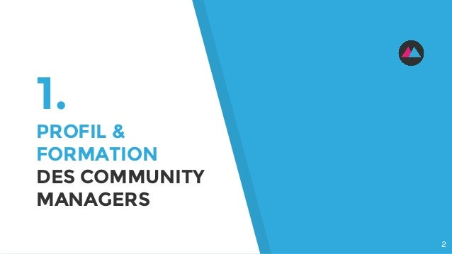 1. PROFIL & FORMATION DES COMMUNITY MANAGERS 2
