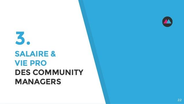 3. SALAIRE & VIE PRO DES COMMUNITY MANAGERS 22