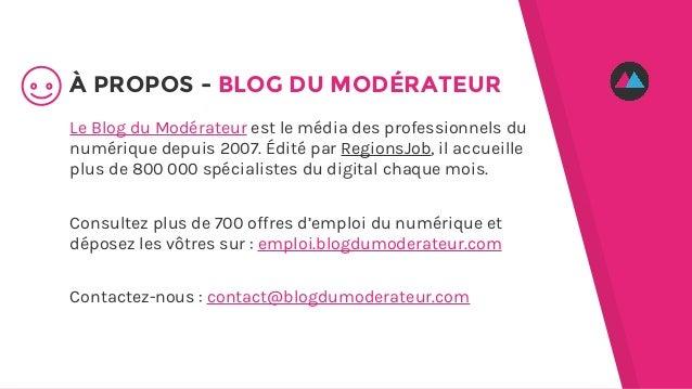 Le Blog du Modérateur est le média des professionnels du numérique depuis 2007. Édité par RegionsJob, il accueille plus de...