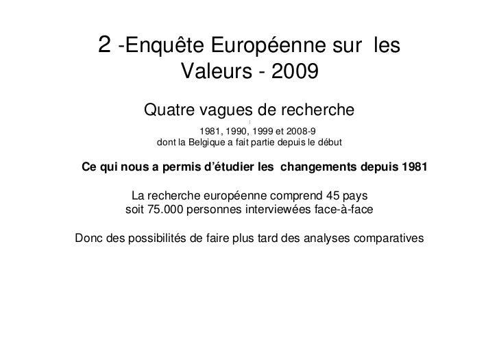 Le Belge est attaché à l'Etat social Slide 2
