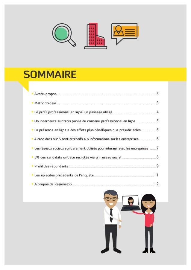 Enquête : Identité numérique et recherche d'emploi Slide 2