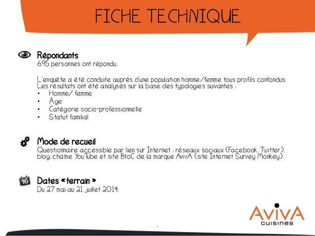 enquête la cuisine idéale des français par aviva
