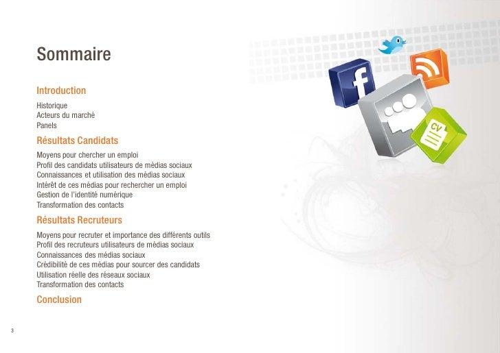 Enquete Reseaux sociaux RegionsJob Slide 3