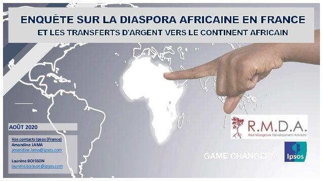 Vos contacts Ipsos (France) Amandine LAMA amandine.lama@ipsos.com Laurène BOISSON laurene.boisson@ipsos.com AOÛT 2020
