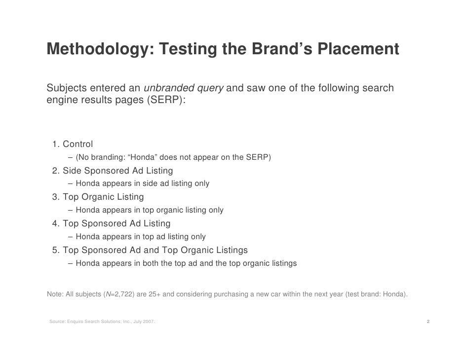 Enquiro White Paper The Brand Lift Of Search Slide 2