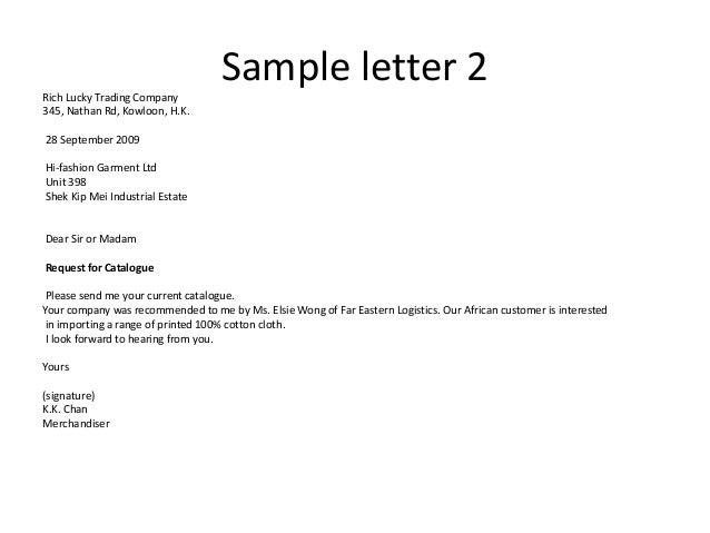 Sample Of Inquiry Letter from image.slidesharecdn.com
