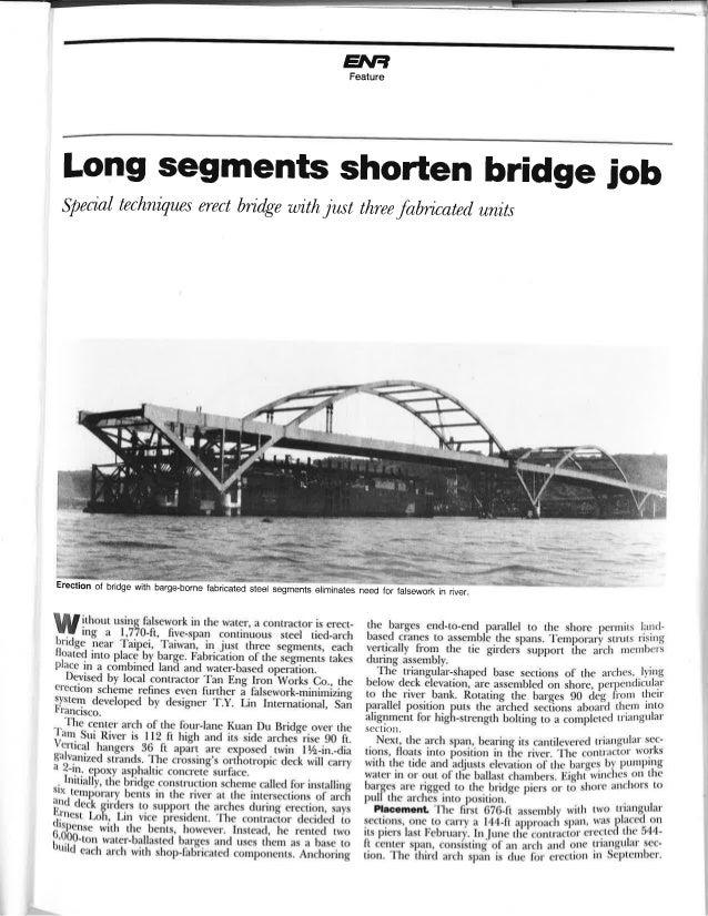 ENR - Kuan-Du Bridge in Taiwan