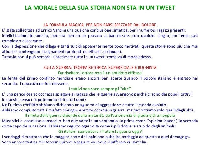 Enrico Vanzini contro la guerra a Loria Slide 2