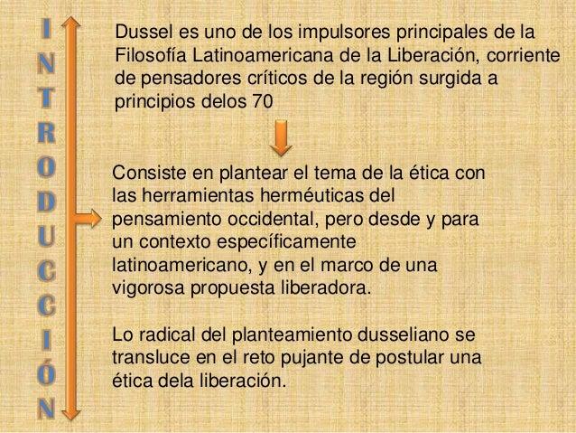 FILOSOFIA DE LA LIBERACION ENRIQUE DUSSEL PDF @tataya.com.mx