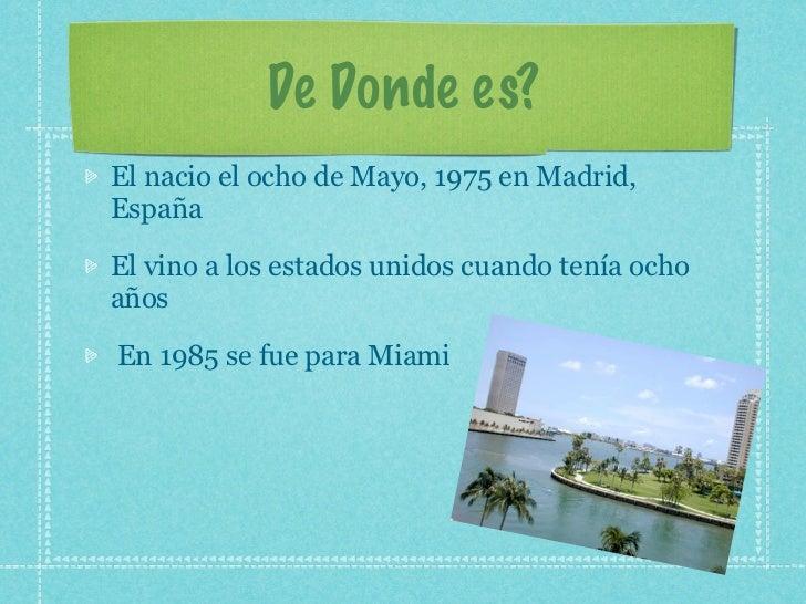 Enrique iglesias  Slide 3