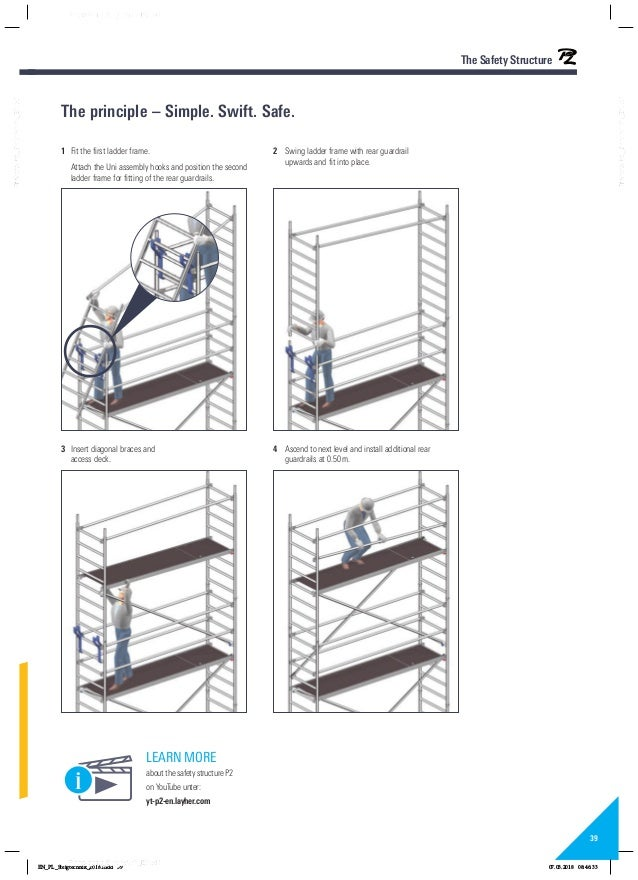 Layher rolsteigers ladders katalog 8118229 0418 pa01022416steigtechnikenpdf 39 fandeluxe Gallery