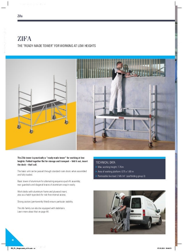 Layher rolsteigers ladders katalog 8118229 0418 pa01022416steigtechnikenpdf 40 fandeluxe Gallery