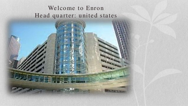 accounting/finance lessons of enron a case study Accounting/finance lessons of enron a case study by (author): harold biermanjr (cornell university, usa) about this book e-book supplementary there is a great deal of confusion regarding the.