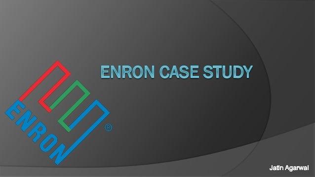 enron case study answers