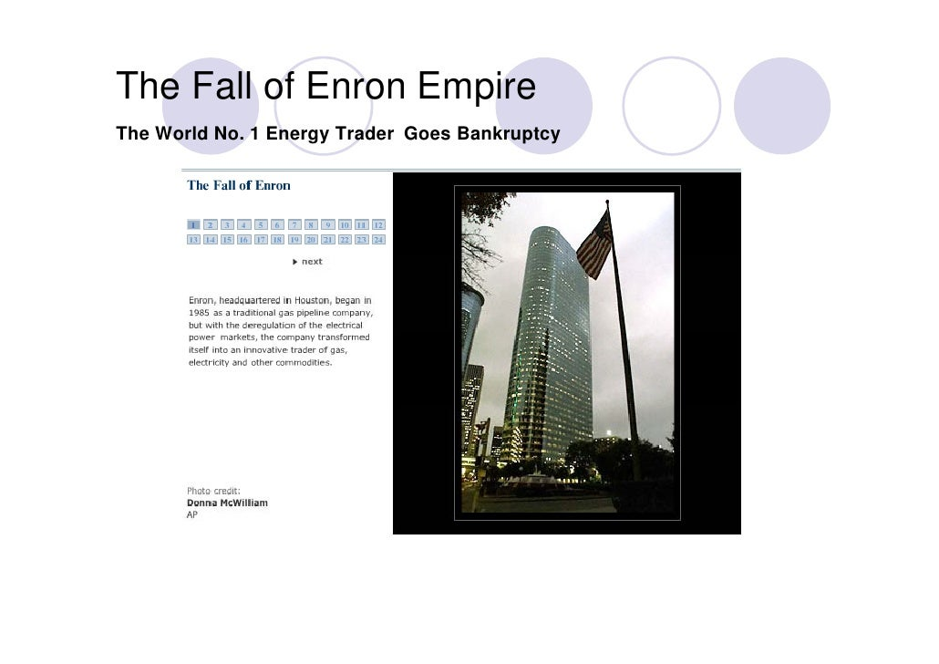 case enron corp At a meeting of stock analysts that enron called in january of 2001 jeff skilling tried to make the case that enron stock, selling then at about $80 per share,.