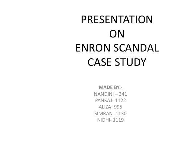 arthur andersen case study summary