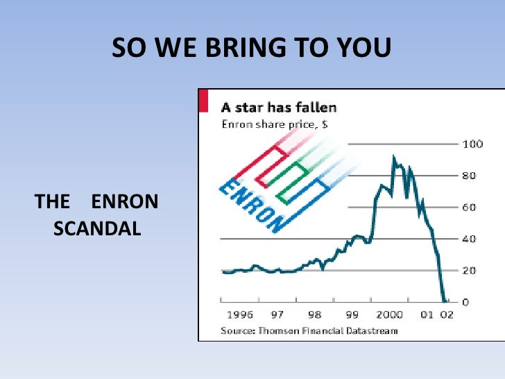 enron scandal essay The enron scandal was the largest corporate financial scandal ever when it emerged the effects of the scandal can still be felt rippling through the economy.