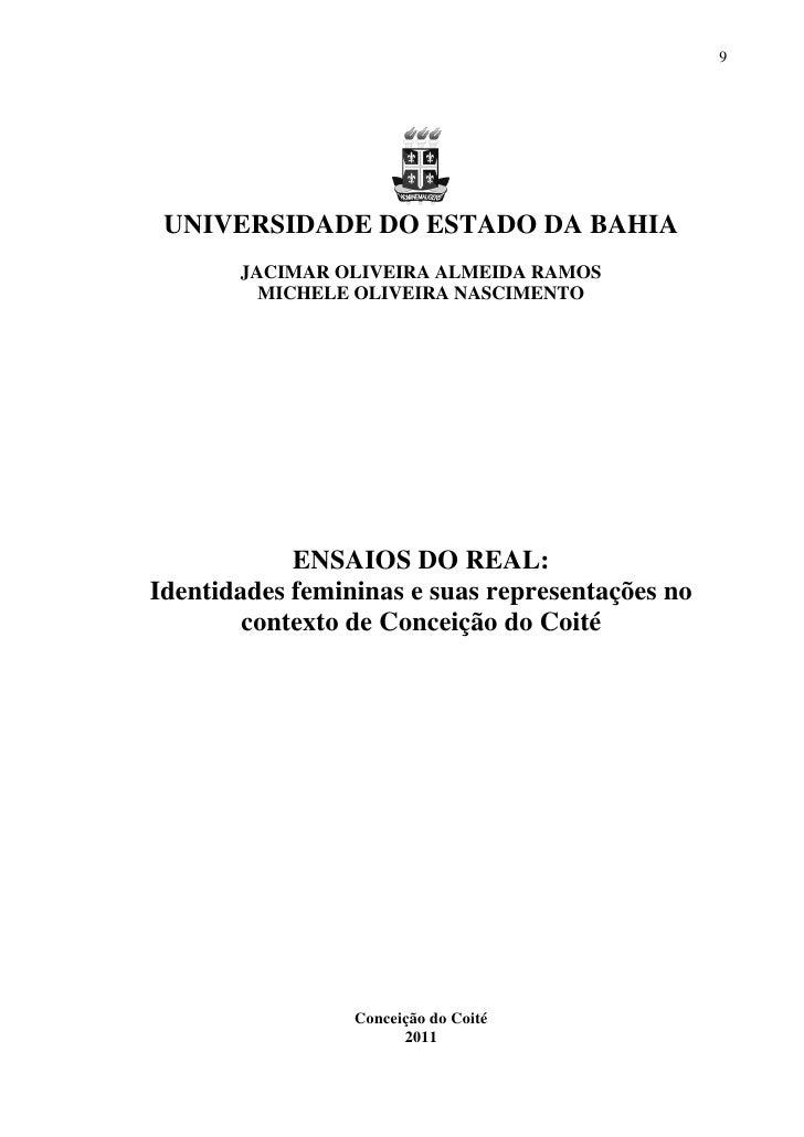 9 UNIVERSIDADE DO ESTADO DA BAHIA       JACIMAR OLIVEIRA ALMEIDA RAMOS         MICHELE OLIVEIRA NASCIMENTO            ENSA...
