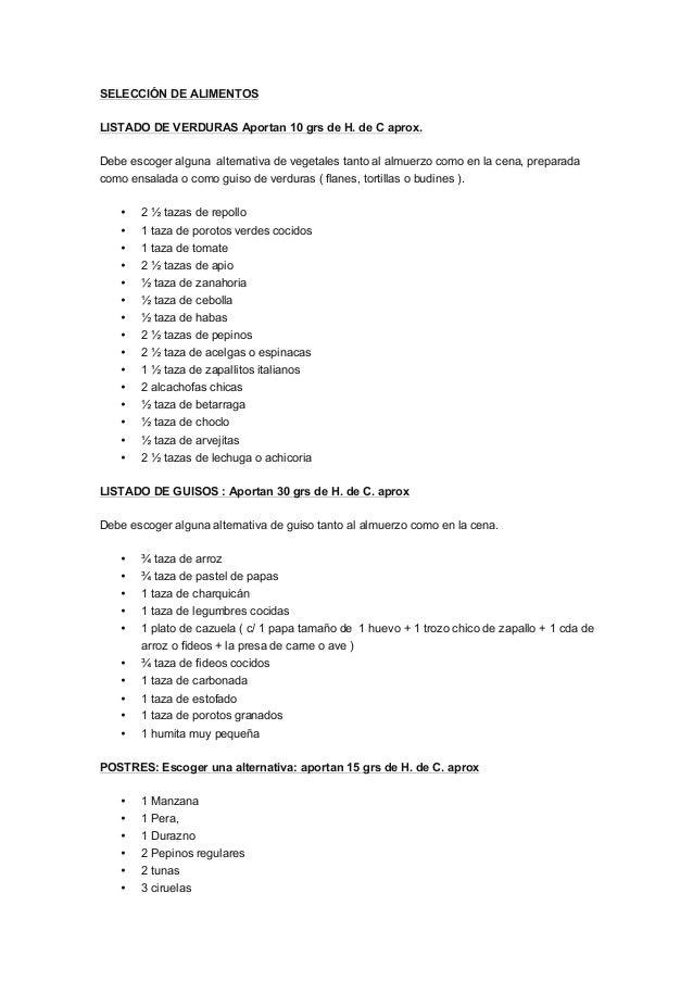 Ensaladas para diabetes pdf
