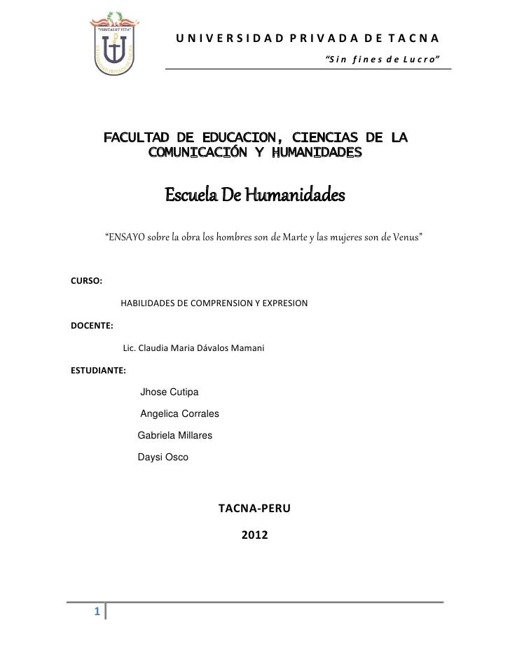 "UNIVERSIDAD PRIVADA DE TACNA                                                            ""S i n f i n e s d e L u c r o""   ..."