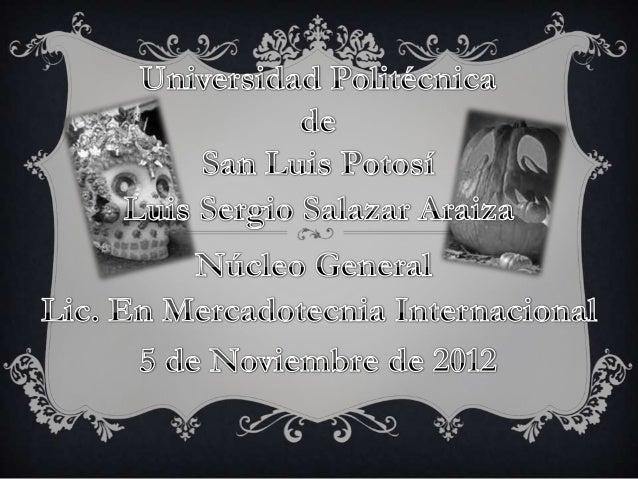 ÍNDICE1. Introducción2. ¿Por que se festeja el día de muertos?3. Día de los santos y los niños (1 de noviembre)4. Día de m...