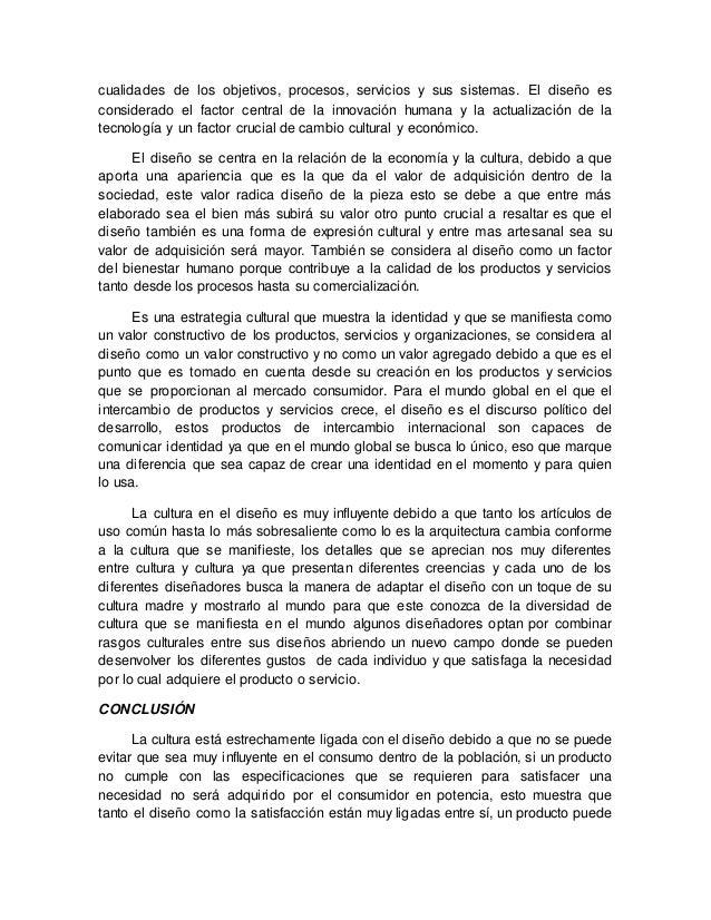 """""""RELACION ENTRE LA CULTURA Y EL DISEÑO"""" Slide 2"""