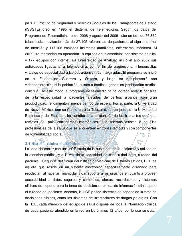 7 país. El Instituto de Seguridad y Servicios Sociales de los Trabajadores del Estado (ISSSTE) creó en 1995 el Sistema de ...