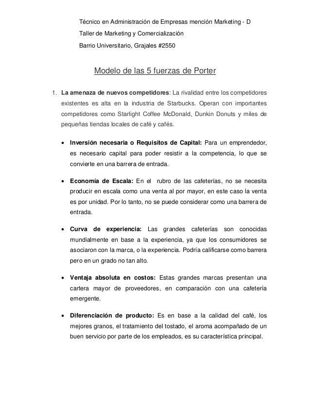 las 5 fuerzas de porter de mcdonalds Las cinco fuerzas de porter representan un marco teórico que se utiliza para el análisis de la industria y el desarrollo de estrategias mcdonald, caribou.