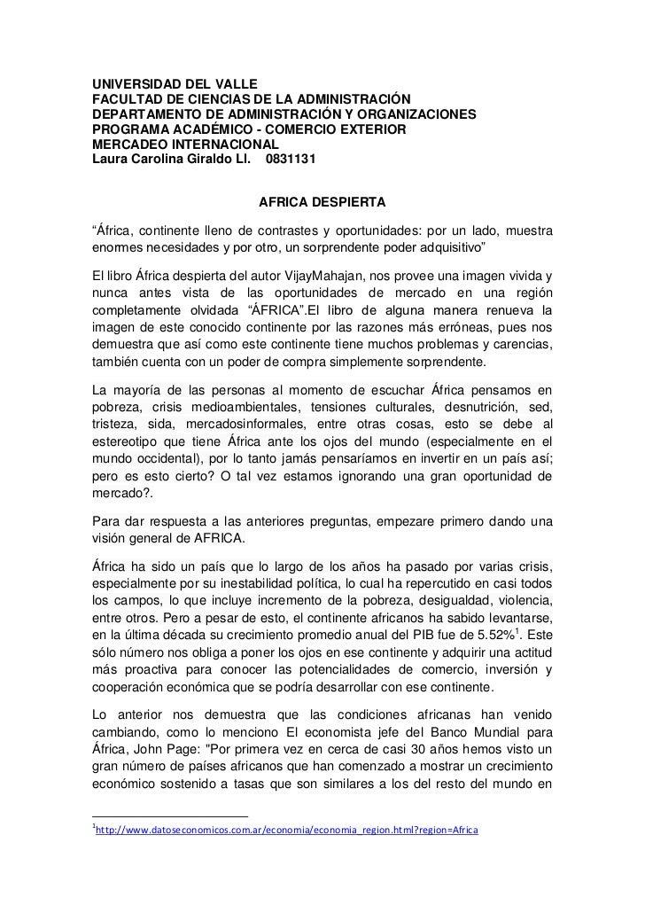 UNIVERSIDAD DEL VALLEFACULTAD DE CIENCIAS DE LA ADMINISTRACIÓNDEPARTAMENTO DE ADMINISTRACIÓN Y ORGANIZACIONESPROGRAMA ACAD...