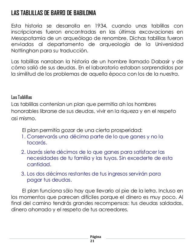 Ensayo babilonia for Las tablillas