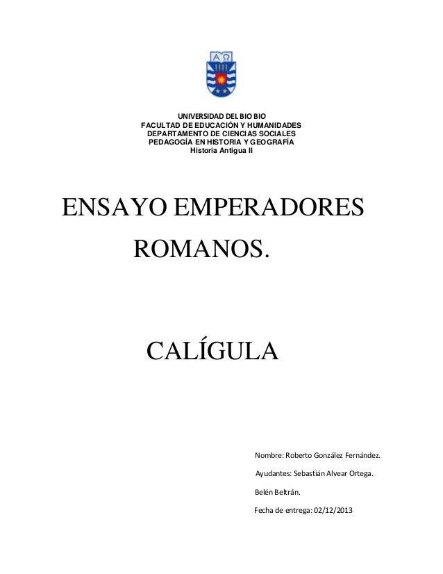 UNIVERSIDAD DEL BIO BIO FACULTAD DE EDUCACIÓN Y HUMANIDADES DEPARTAMENTO DE CIENCIAS SOCIALES PEDAGOGÍA EN HISTORIA Y GEOG...