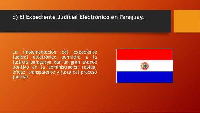 Resultado de imagen para expediente electrónico paraguay