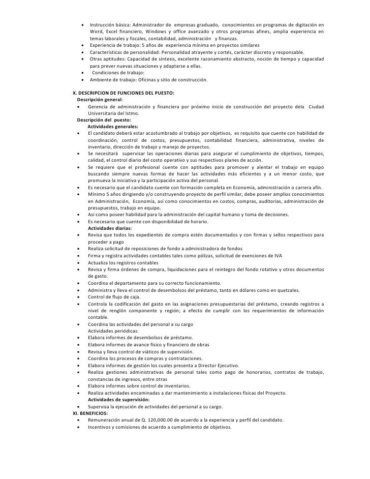 Modelo de recursos humanos para la Constructora del Istmo