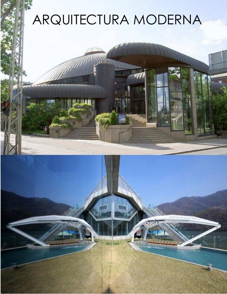 Ensayo de arquitectura moderna for Arquitectura moderna