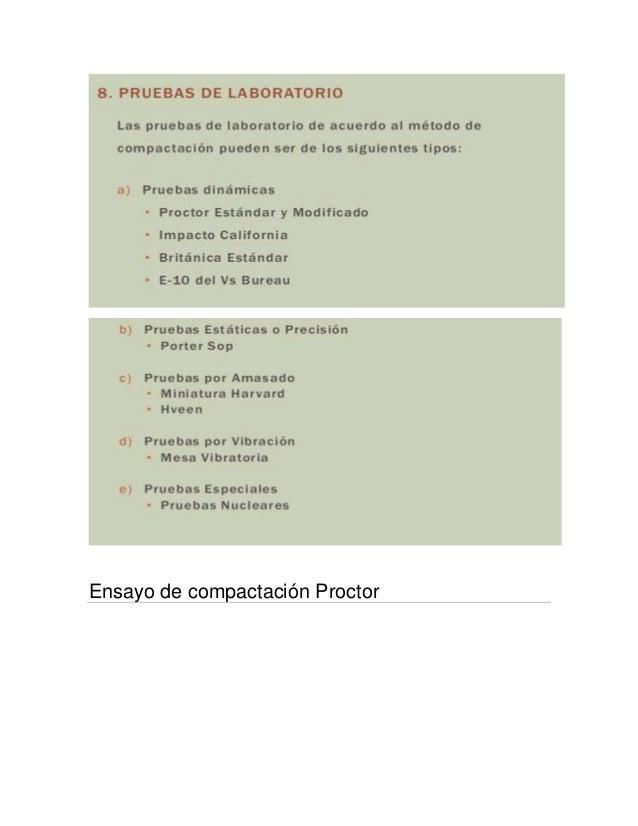 Ensayo de compactación Proctor