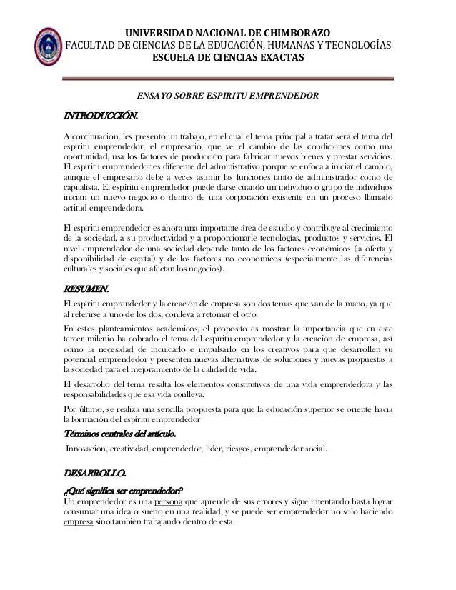 UNIVERSIDAD NACIONAL DE CHIMBORAZO FACULTAD DE CIENCIAS DE LA EDUCACIÓN, HUMANAS Y TECNOLOGÍAS ESCUELA DE CIENCIAS EXACTAS...