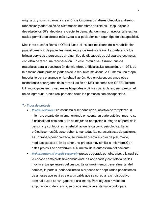 """ORTESIS Y PRÓTESIS Y SU AVANCE TECNOLÓGICO"""""""