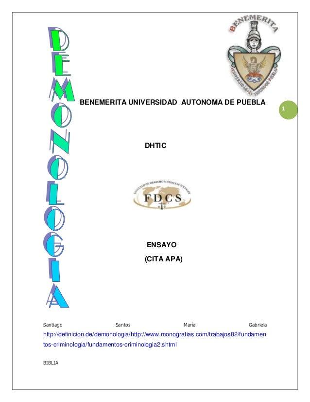 BENEMERITA UNIVERSIDAD AUTONOMA DE PUEBLA                                                                                 ...