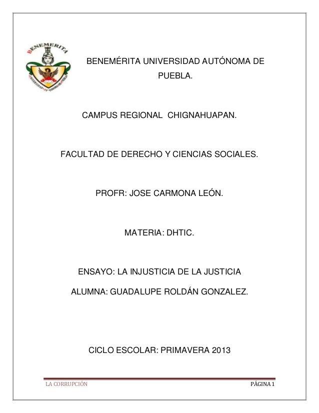 BENEMÉRITA UNIVERSIDAD AUTÓNOMA DE                              PUEBLA.           CAMPUS REGIONAL CHIGNAHUAPAN.    FACULTA...