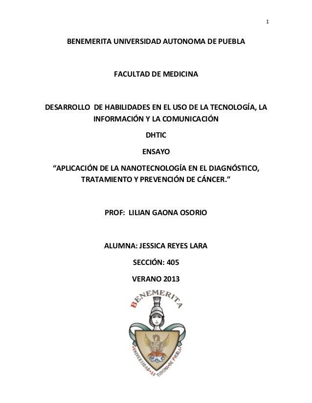 1 BENEMERITA UNIVERSIDAD AUTONOMA DE PUEBLA FACULTAD DE MEDICINA DESARROLLO DE HABILIDADES EN EL USO DE LA TECNOLOGÍA, LA ...