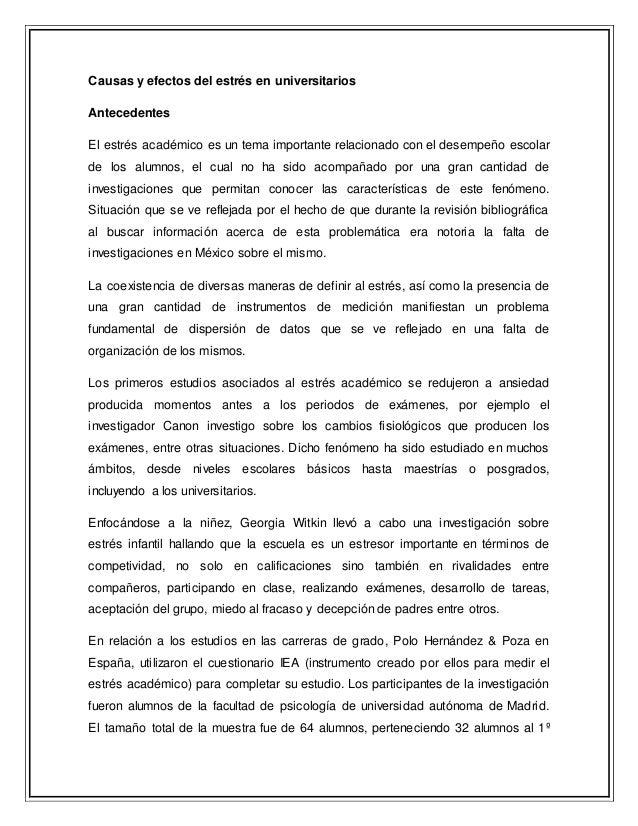 causas de la depresion en estudiantes universitarios pdf