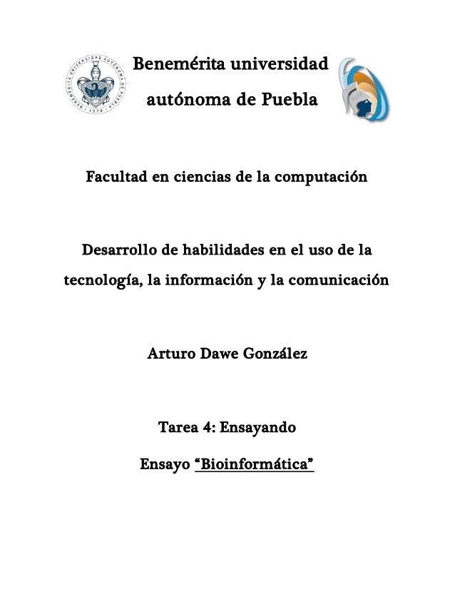 Benemérita universidad autónoma de Puebla Facultad en ciencias de la computación Desarrollo de habilidades en el uso de la...