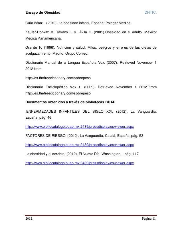 Ensayo final de obesidad pdf