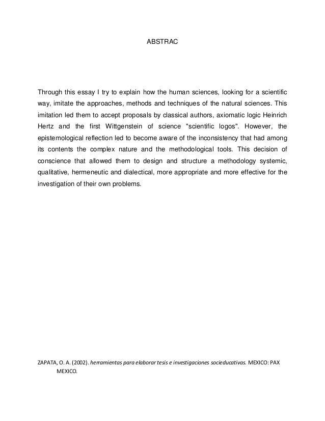 metodos y enfoques essay Herramienta 6 enfoques pedagógicos y métodos de educación manual para integrar la educación sobre el vih y el sida en los programas de estudio escolares 1.